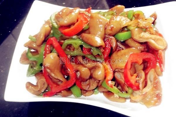 辣椒炒肥肠的做法