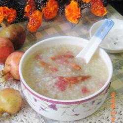 石榴花糯米粥的做法[图]
