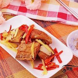 香辣煎带鱼的做法[图]