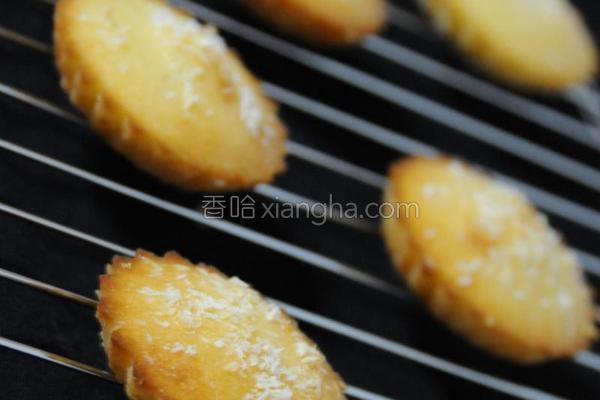 柠檬椰香小蛋糕的做法
