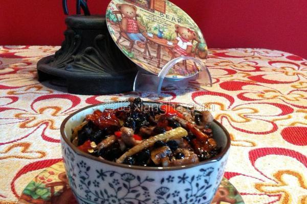 豆豉炒肉丝的做法