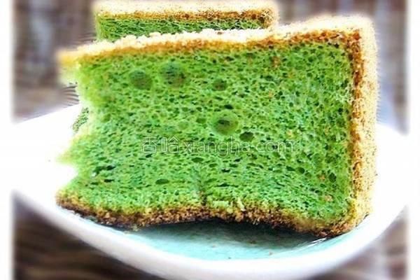 抹茶蛋糕的做法