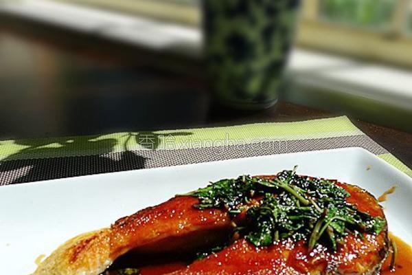 泰式酱汁煎三文鱼的做法