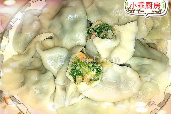 猪肉韭菜虾仁饺子的做法