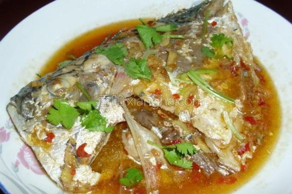 酱烧鲳鱼的做法