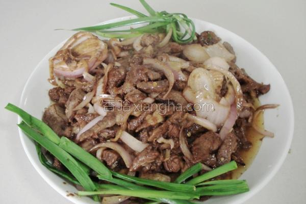 牛肉炒洋葱的做法