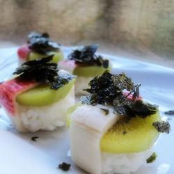 猕猴桃海苔寿司的做法[图]