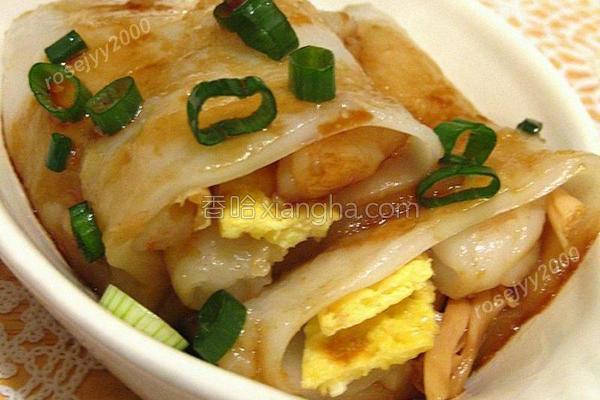 自制虾蛋肠的做法