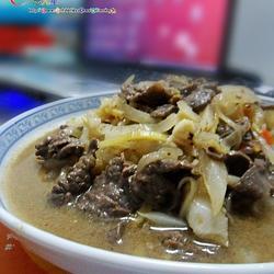白萝卜炒牛肉的做法[图]