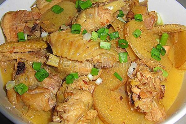 姜片子鸡的做法