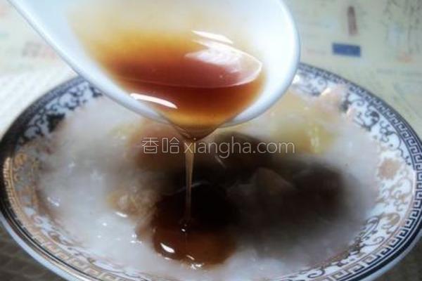 苹果葡萄干蜂蜜粥的做法