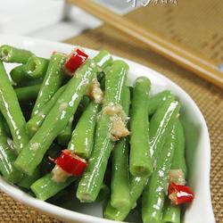 蒜香腐汁豆角的做法[圖]