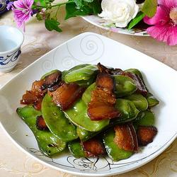 青扁豆炒臘肉的做法[圖]