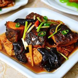豆腐木耳炖咸青鱼的做法[图]