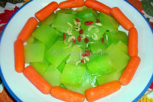 凉拌莴苣笋的做法