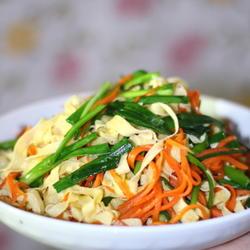 红萝卜豆腐丝的做法[图]