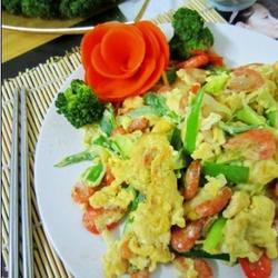 虾米炒鸡蛋的做法[图]