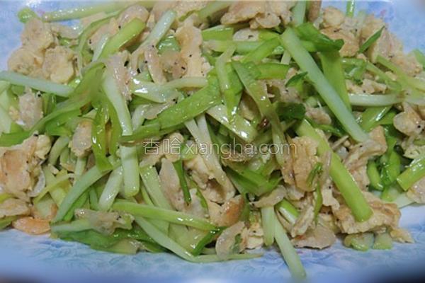 虾皮滑蛋炒韭黄的做法