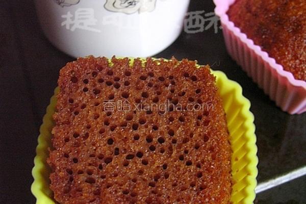 神奇蜂巢蛋糕的做法