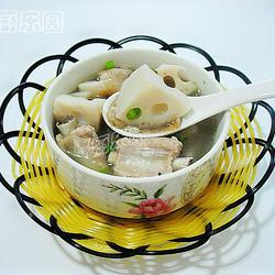 菜脯莲藕煲排骨的做法[图]