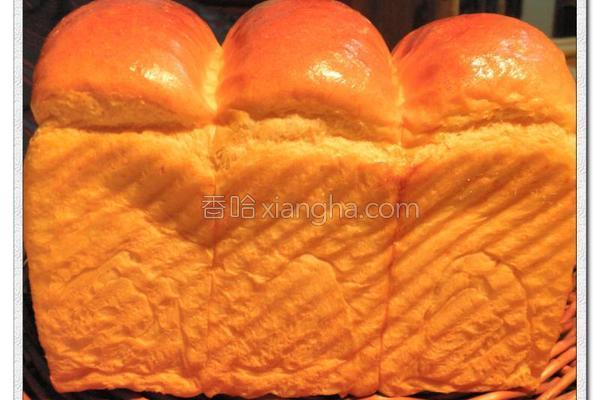 枫糖胡萝卜吐司的做法