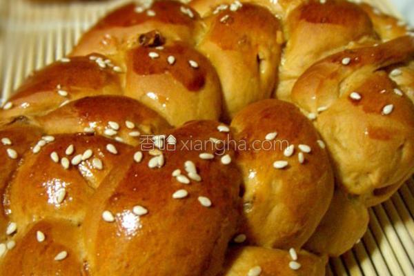 卡布奇诺红糖坚果面包的做法