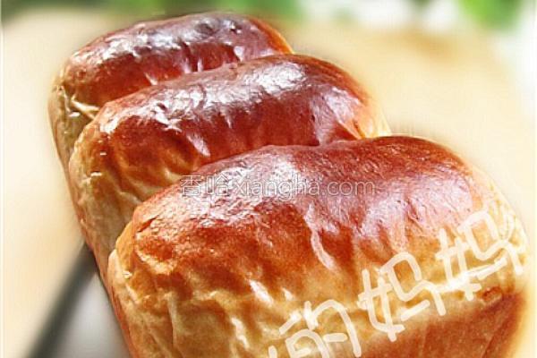 紫薯馅面包的做法