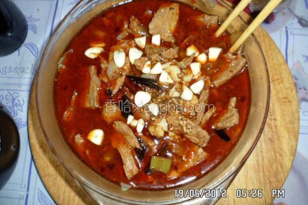 水煮牛肉片
