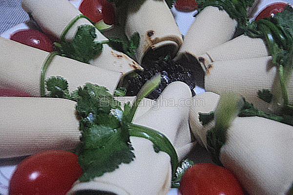 菠菜卷的做法