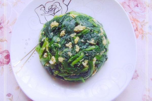 清汤菠菜的做法