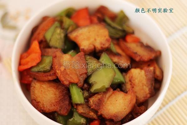 盐煎尖椒五花肉的做法