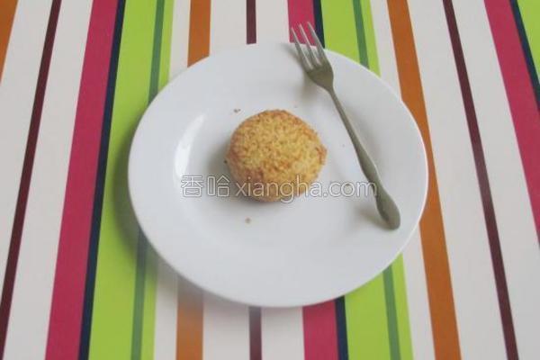 飘香椰丝饼的做法