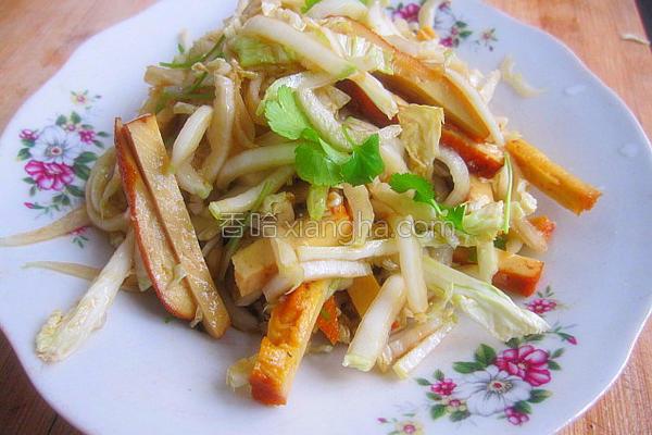 凉拌白菜芯儿的做法