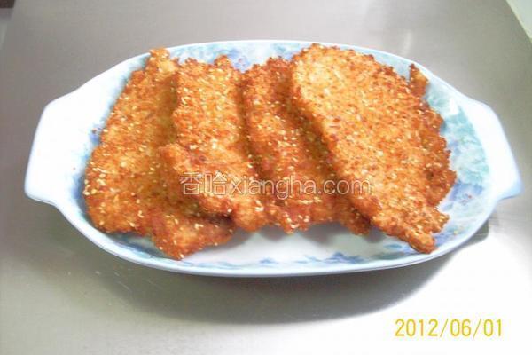 香辣葱姜猪排