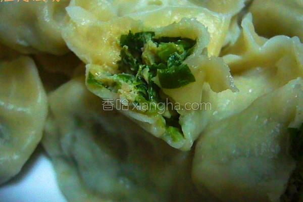 蔬菜精肉水饺的做法
