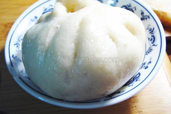 梅干菜肉包的做法