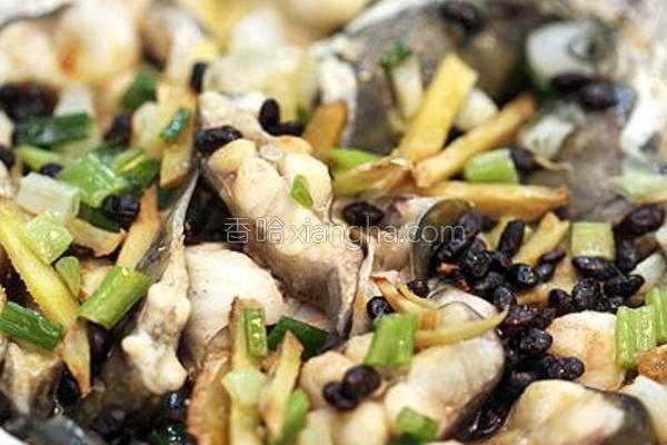 豆豉蒸鲶鱼的做法