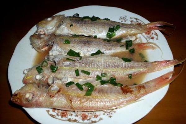 香煎红鱼成品图
