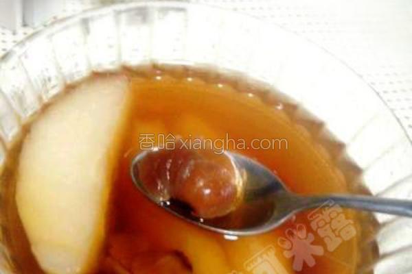 雪梨姜茶的做法