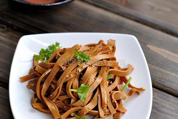 香卤豆腐丝的做法