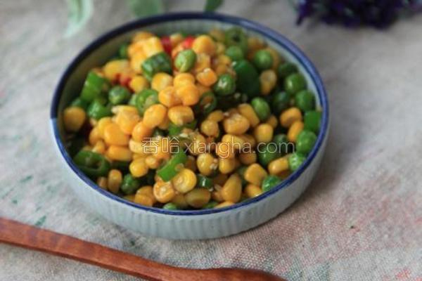 辣炒玉米粒的做法