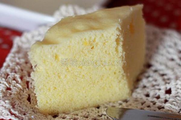 清蒸柠味蛋糕的做法