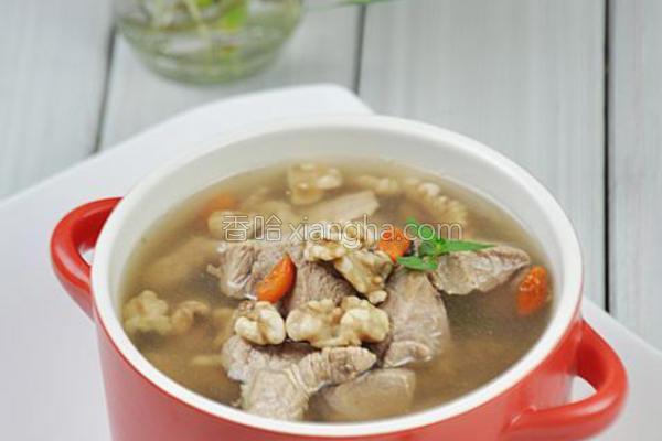 滋补羊肉汤的做法
