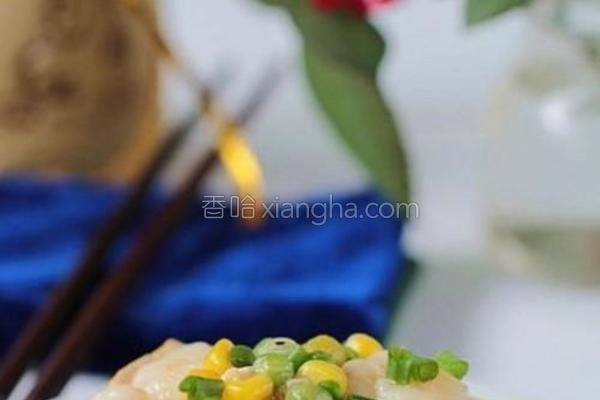 蚝油虾仁豆腐的做法