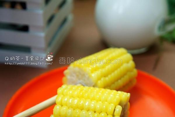奶油甜玉米的做法