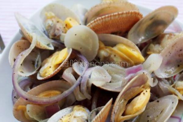 酒香烩蛤蜊的做法