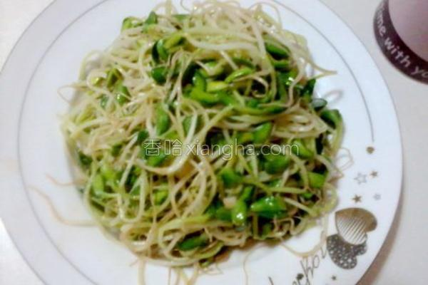 蚝油豆芽菜