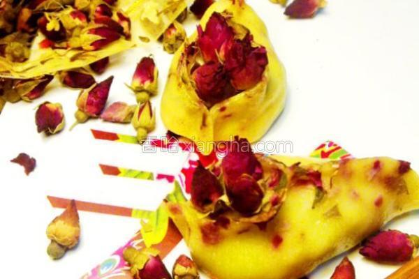 浪漫玫瑰饺的做法