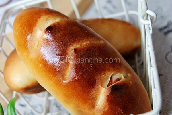 枸杞面包的做法