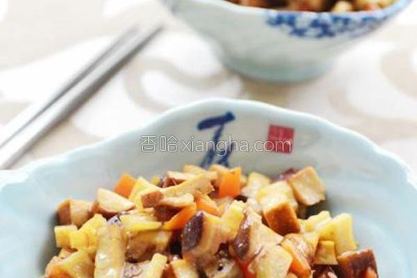 素炒杂菜的做法